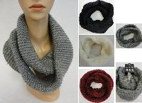 Knitted Infinity Scarf [Tight Knit]
